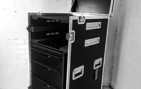 GP Roadtrunk Flightcase with CNC Engraved Dividers